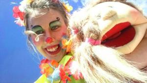 Clown buchen Clownin mieten