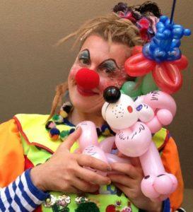 Ballonkünstler mieten Clown buchen Kinderschminken Kindergeburtstag Hochzeit